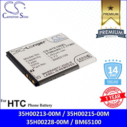 CameronSino Battery for HTC Desire 510 / A11 / 510 Mini / 601 / Zara Battery P-HTE100XL