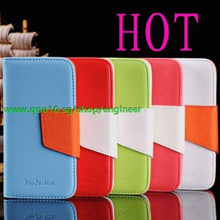 Hot Leather Case Leather Bag for iPhone 5/Galaxy Note 2/Galaxy S3/S2/Note/iPhone 4/4S/phone casings