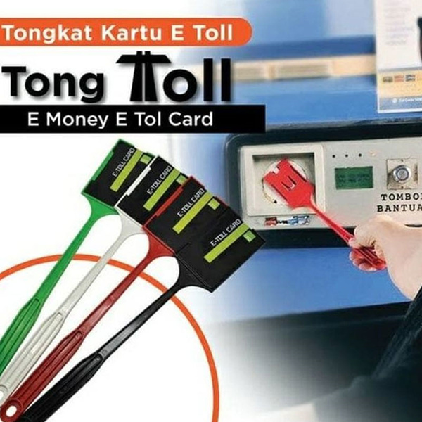 Tongkal E-Toll 2 in 1 Tongkat Tol Tongkal Etoll 2 kartu Tongtoll GTO Deals for only Rp5.000 instead of Rp5.000