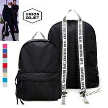 [UNION OBJET] EXO着用同款後背包單口袋款 15種顏色 正品韓國直送