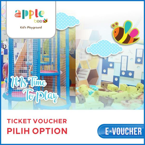 ?APPLE BEE? Up To 30% off Tiket Masuk APPLE BEE/Weekday/weekend/libur/Mobile voucher/Taman Anggrek? Deals for only Rp80.000 instead of Rp80.000