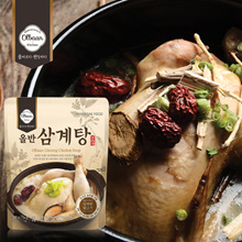 [Olbaan] Chicken Soup / Korean food / Korean Soup /  home-made / Samgyetang