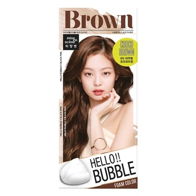 Mise en scene Hello bubble 6N Choco brown