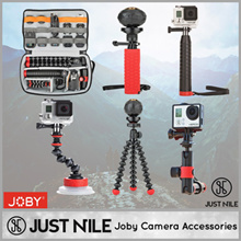 AUTHENTIC JOBY ACTION SERIES! GOPRO ACCESSORIES ACTION VIDEO CAMERA ACCESSORIES! GORILLAPOD
