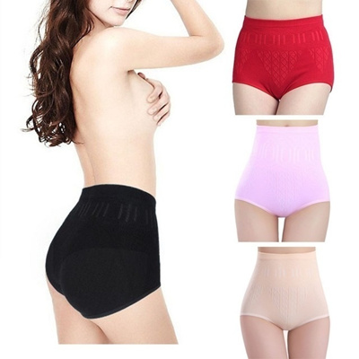 3bcc5325ddb7 Control Panties Women High Waist Tummy Control Brief Knickers Underwear  Cotton Shapewear PY6