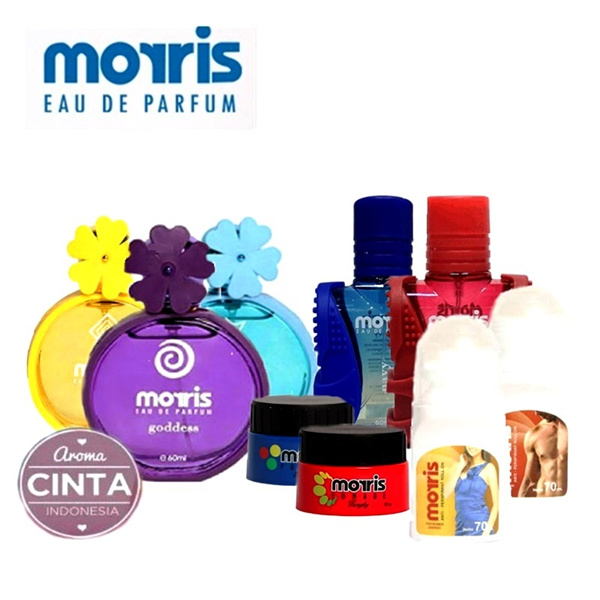 Buy 1 Get 1 MORRIS Bunga 60 ml GET FREE Morris Roll on Energic 70 ml Deals for only Rp50.000 instead of Rp50.000