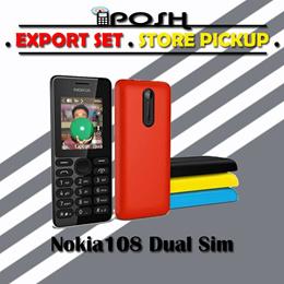 NOKIA 108 Dual Sim EXPORT SET without WARRANTY!