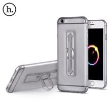 [HOCO SOFT TRANSPARENT TPU PHONE COVER RING BUCKET CASE FOR IPHONE 6 PLUS / 6S PLUS] 1 PIECE HOCO 5.