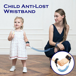 Anti-lost Wrist Link Rope/ Child Anti-Lost Wristband/ Kids Safety Wrist Strap Harness Prevent Lose
