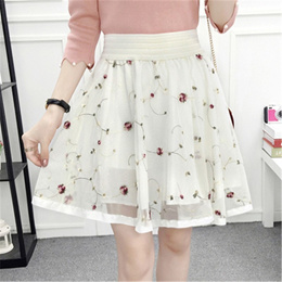 store 2018 Spring Summer Fall Black Teenage Kids Big Girls Skirt Tutu Flower Pearls Children Clothes