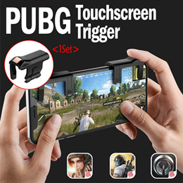 JD]PUGB Gamepad for Shooting Mobile Games Tool for Smartphone Compatible Assist Shortcut Key SG