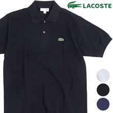 [Made in Japan] Lacoste LACOSTE Mens polo shirt L.12.12 Mens made in Japan short sleeve plain polo