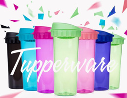 Tupperware 500ml Leak-proof Tumbler / Flask / Water Bottlewith Cover Spout Strainer and Detachable Matching String Handle