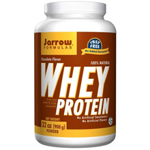 Jarrow Formulas 100% Natural Whey Protein Chocolate 32 oz (908 g) Powder