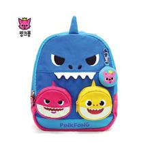 ★[PinkPong] Shark Family Melody Lost Child Prevention Backpack★Kids Bag / Children / Baby / Missing Child