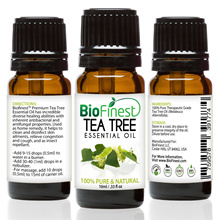 Biofinest Tea Tree 100% Pure Essential Oil - USA Imported - Therapeutic Grade - Australia Premium
