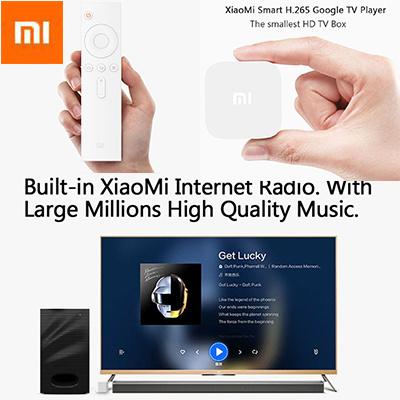 [US$49 86](▼84%)★Xiaomi★Xiaomi TV Box 3S Pro Smart TV Box Mini MIUI TV Box  Portable MT8685 Quad Core Android 4 4 H 265 Decoder 1GB RAM 4GB ROM