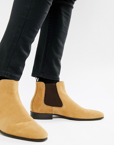 98be43603538 Qoo10 - 알도 ALDO Chenadien chelsea boots in beige leather   Shoes