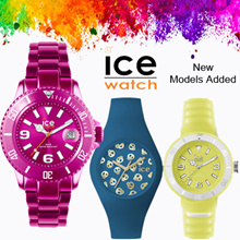 ICE WATCH LADIES AND MEN WATCHES (ASSORTED DESIGNS)