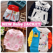 New Bear Series Baby Jacket / Children / Kid Jacket with Hoodie(Head Cover) Ready Stock