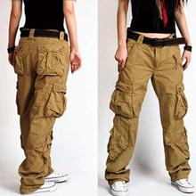 Woman Cargo Pants Cotton Trousers Loose Plus Size Ladies Harem Hip Hop Army Pants Women Wide Leg Cas