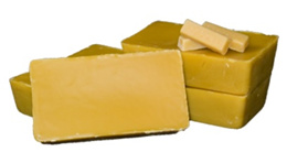 Raw Organic Beeswax Block (Up to 1.6 kg!)
