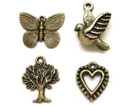 Charms / Pendants Bronze (Part I)/ scrapbooking / embellishments DIY