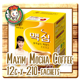 Maxim Mocha Coffee Mix 12gm x 210 sachet sticks