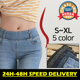 ★5th Restocked☆24H-48H DELIVERY★Perfect Fit Banding Pants ver.9 (JEAN) C082419