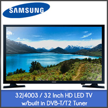 Samsung 32J4003 / UA40K5000 HD LED TV w/Built In DVB-T/T2 Tuner