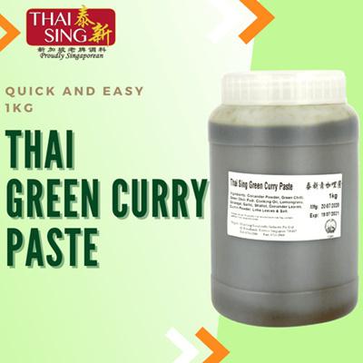 Thai Green Curry Paste - 1kg
