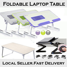 [Local Seller] Foldable Laptop Table / Multi-Angle Computer Desk / Ergonomic Multifunction Portable