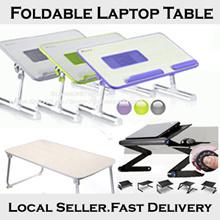 [Local Seller] Foldable Laptop Table / Multi-Angle Computer Desk / Ergonomic Multifunction Portable