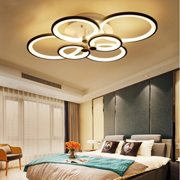 Modern Bedroom Remote Control Living Room Acrylic 4-8 Led Ceiling Lights Special bright led ceiling