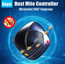 *Buy 2 free shipping* Onysi wireless ultrasonic mites household bed mites mites UV sterilization rob