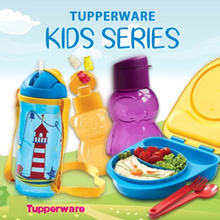 SG Seller ★Authentic TupperWare★ 350ml Kids Water Bottle BPA Free