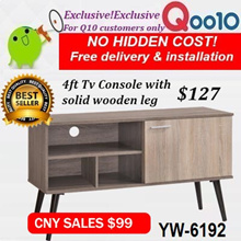 Furniture sales!Tv Rack/Console NEW ARRIVAL OFFERS!Free delivery and installation!4design to choose