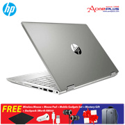 HP Pavilion x360 14-cd1009TX Notebook 5HV43PA Pale Gold + Free Premium Gift