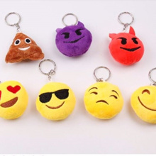 ❤ FREE GIFTS!!! ❤ EMOJI KEYCHAIN WITH ALLOY RING ❤