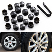 Qoo10 replacement parts tools items on sale qranking 20 pcs 17 mm car wheel nut caps bolt covers removal tool for vw audi fandeluxe Gallery