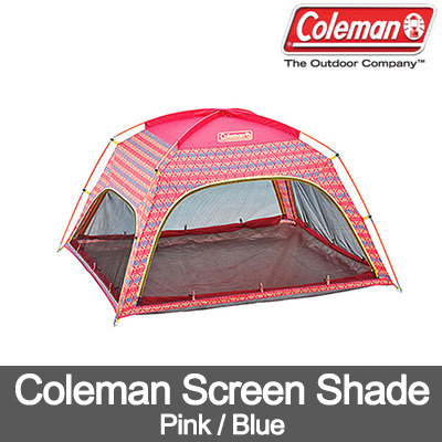 Coleman Screen Shade(BluePink)/Sun Screen/Sun Shade/Shade/Tent  sc 1 st  Qoo10 & Qoo10 - Coleman Screen Shade(BluePink)/Sun Screen/Sun Shade/Shade ...
