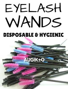 [ Lowest Shipping Fee! ]  😍   50pcs Disposable Eyelash Wands Mascara Brush   😍