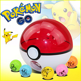 ♥ POKEMON BALLS ♥ Free Pokemon/Pikachu! POKEMON GO POKEMON BALL TOY Pokeball Toy Great master ultra timer balls POKEBALLS GIFT children