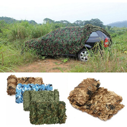 Woodland Camo Netting Camping Military Hunting Camouflage Net 6.56ft x 9.8ft