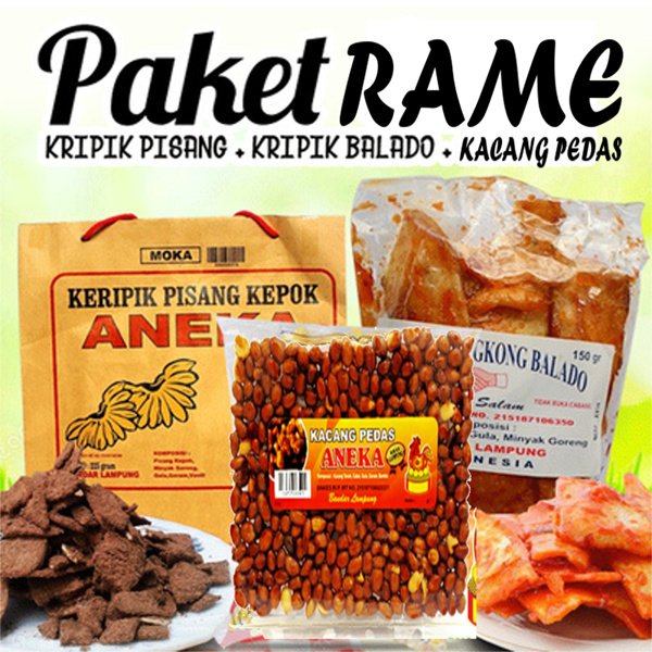PAKET RAME Deals for only Rp35.000 instead of Rp35.000