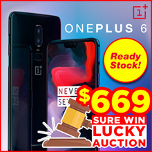 OnePlus 6 (6GB RAM+64GB ROM 8GB RAM 128/256GB ROM) - Export Set with Global Rom - READY STOCK