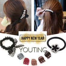 【YOUTING】premium Accessories hair clip hoop hairband earrings sports hair tie curler