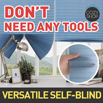 [Cozyshop_Headoffice]Versatile Self Blind★Quick fix★Featuring Simple Stick Installation★Blind