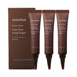 [INNISFREE] My Hair Recipe Loss Care Scalp Scaler (For Hair Loss Care) - 1pack (3items)