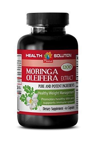 Vitamins Diet Health Solution Prime Moringa Oleifera Seeds - MORINGA  OLEIFERA EXTRACT 1200 - Fat Bu